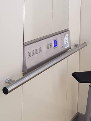 TBO Aufzug - Handläufe