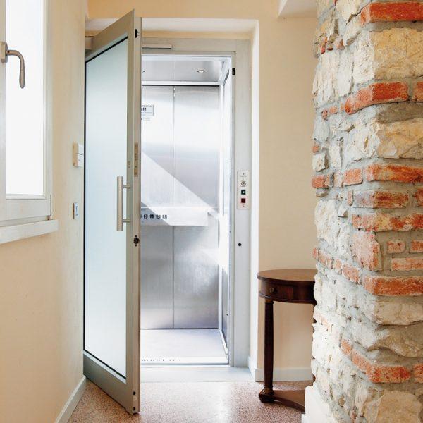 TBO Aufzug-DomusLift-Villa Bergamo