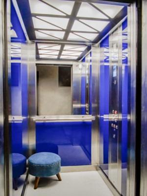 Oświetlenie kabiny w windzie TBO