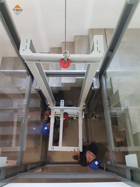 Montaż windy TBO